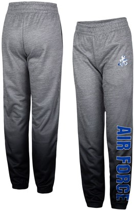 Colosseum Youth Heathered Gray Air Force Falcons Electric Mayhem Pants