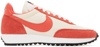 Nike Red and Off-White Air Tailwind 79 SE Sneakers
