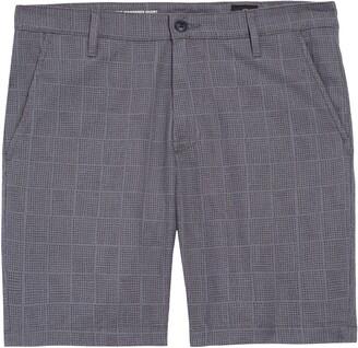 AG Jeans Wanderer Slim Fit Linen Blend Shorts