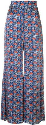 Alexis Esper floral print trousers