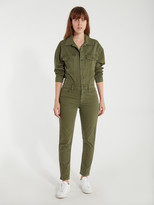Hudson Jeans Long Sleeve Fitted Jumpsuit
