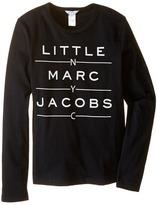 Little Marc Jacobs Resort - Long Sleeve Essential Tee Shirt Boy's T Shirt