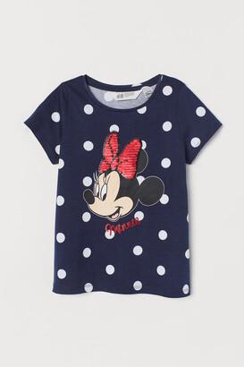 H&M Graphic-detail T-shirt