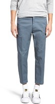 Obey Men's 'Straggler Flodded' Slim Fit Stretch Cotton Pants
