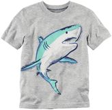 Carter's Baby Boy Short Sleeve Shark Graphic Tee