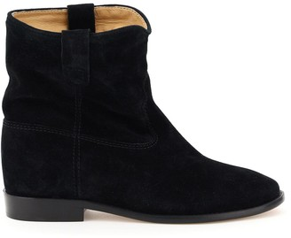 Isabel Marant CRISI ANKLE BOOTS 36 Black Leather