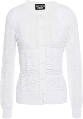 Moschino Pointelle-knit Cardigan