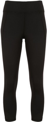 Michi Panelled Three-Quarter Leggings