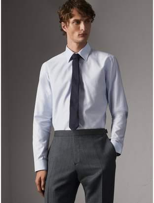 Burberry Modern Fit Pin Dot Dobby Cotton Shirt