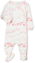 Lucky Jade Newborn/Infant Girls) Safari Footie