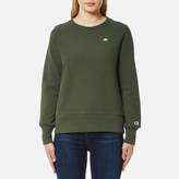 Champion Women's Crew Neck Sweatshirt Green