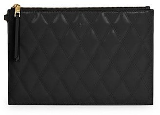 Givenchy Medium GV3 Quilted Leather Pouch