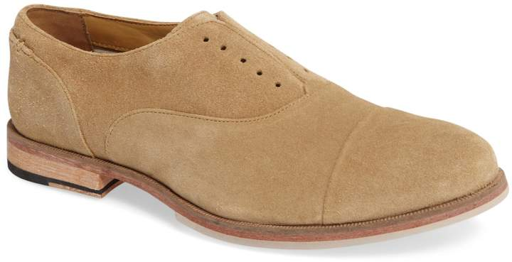 J Shoes Baily Cap Toe Slip-On Oxford