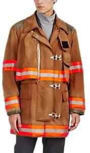 Calvin Klein Men's Washed Cotton Canvas Firefighter Jacket - Dark Gray