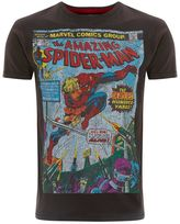 Fabric Flavours Fabric Flavours Spiderman Crack T-shirt