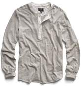 Todd Snyder Classic Henley in Oatmeal