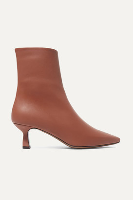 Neous Ancistro Leather Ankle Boots - Tan