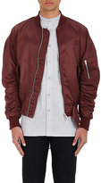 Fear Of God Men's Bomber Jacket-BURGUNDY