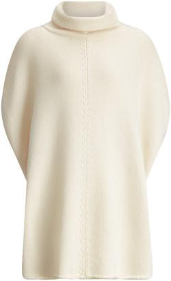 Joseph Poncho Wool Cashmere Knit