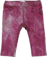 VERSACE YOUNG Denim pants - Item 13038838