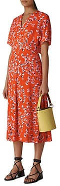 Whistles Zelena Digital-Daisy Print Dress