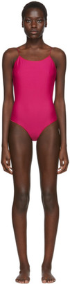 Oseree SSENSE Exclusive Pink One-Piece Swimsuit