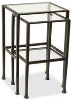 Pottery Barn Tanner Nesting End Tables
