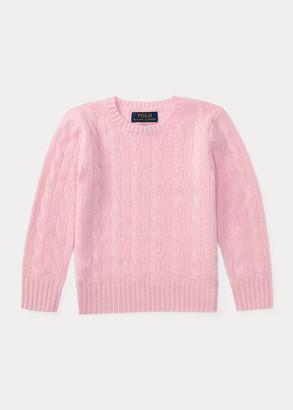 Ralph Lauren Cable-Knit Cashmere Sweater