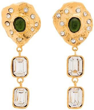 MONDO MONDO Crystal-Embellished Statement Earrings