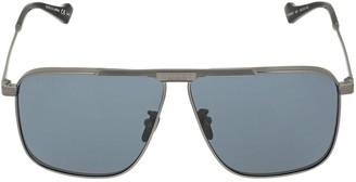 Gucci Gg0840s Metal Aviator Sunglasses