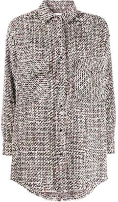 IRO Oversized Tweed Shirt