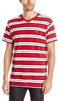 Akademiks Men's Alden Striped T-Shirt