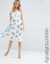 Asos Kate Lace Midi Dress In Mini Bouquet Floral