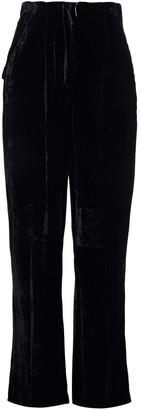 Gentry Portofino Gentryportofino Velvet Wide-leg Pants