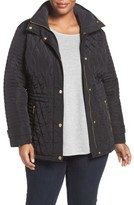 MICHAEL Michael Kors Plus Size Women's Quilted Jacket