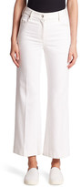 Calvin Klein Collection Fray Bis Cropped Heavy Twill Denim Pant