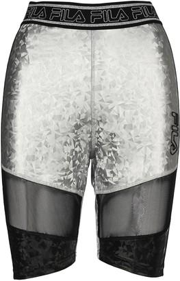 Fila Logo Waistband Bike Shorts