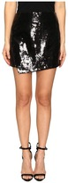 LAMARQUE - Wakana Leather Sequin Skirt Women's Skirt