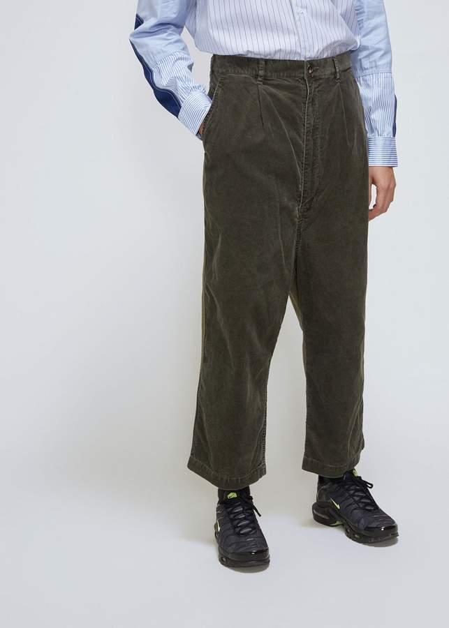 Comme des Garcons Homme Corduroy Satin Trouser