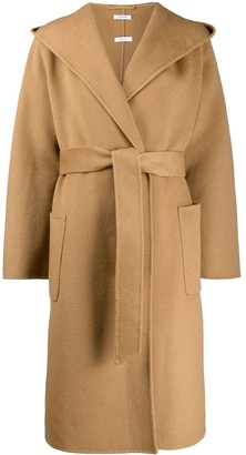 P.A.R.O.S.H. Oversized Collar Trench Coat