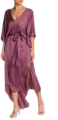 Young Fabulous & Broke Starla Wrap Midi Dress
