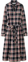Uniqlo Women Idlf Flannel Check Long Sleeve Dress