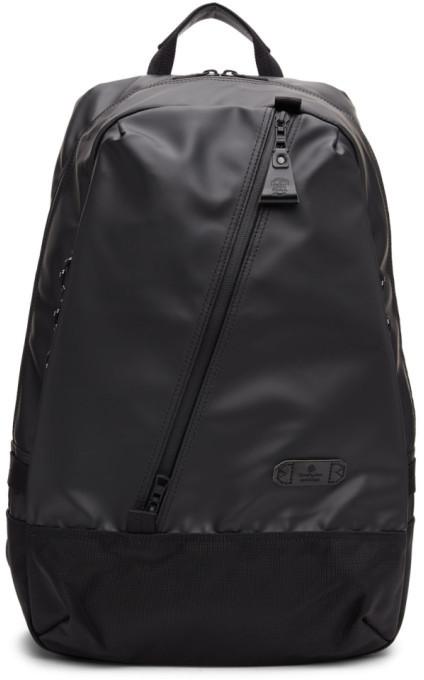 Master-piece Co Black Slick Backpack