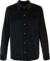 A.P.C. plain shirt - men - Cotton/Spandex/Elastane - M