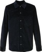 A.P.C. plain shirt - men - Cotton/Spandex/Elastane - S