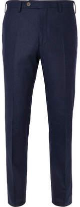 Lardini Skinny-Fit Melange Wool Trousers