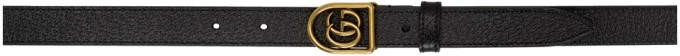 Gucci Black Small Marmont Belt