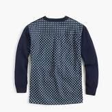 J.Crew Girls' combo sweater