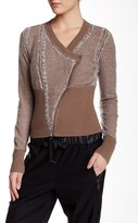 L.A.M.B. Contrast Knit Cardigan