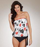 Mandalay Athena Pick Your Fit Floral-Print Tankini Top
